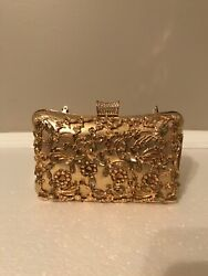 Goldstone evening clutch wedding purse $15.00