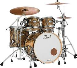 Pearl Masters Maple Complete 4-piece Shell Pack - Cain And Abel Graphic