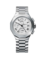 Baume And Mercier Riviera Automatic Men's Watch Stainless Steel Chronograph White