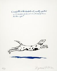 Raymond Pettibon Untitled Could That Be... 2018. Signed, Numbered, Art Print