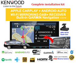 Kenwood Dnx9190dabs For Honda Insight 2009-2013 Ze Car Stereo Upgrade