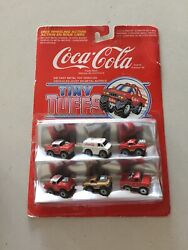 Coca Cola Tiny Tuffs Die Cast Collectable Toy Cars