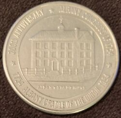 1954cradle Of The Union Celebration Albany Ny - .925 Silver - Rare Only 1250