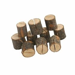 Oulii Wedding Place Wooden Card Holders Table Number Stands For Home Party De...