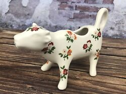 New Pioneer Woman Posey Fall Floral Cow Creamer