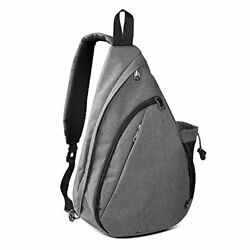 OutdoorMaster Sling Bag Small Crossbody Backpack for Men amp; Women Gray $30.12