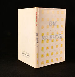 1979 Om Krishna Signed First Edition Limited Ed Scarce Charles Henri Ford
