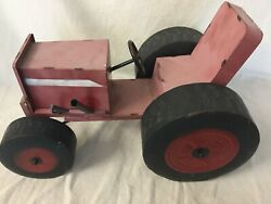 Antique Vintage Tractor All Steel Including Wheels