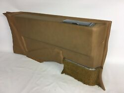 1973 73 1974 74 Cadillac Coupe Deville Panel Left Rear Lower Tan