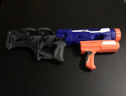 Nerf Thunderblast Gun In Great Working Condition
