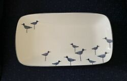 New Lenox Kate Spade New York Wickford Sandpiper Hors D'oeuvres Tray Dish 1st Q