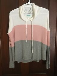 P.S. Kate small long sleeve hooded top $8.50