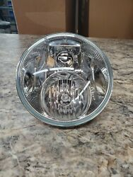 Harley-davidson Oem Stock 7 Dual Halogen Headlamp 04and039 And Later P/n-67700062