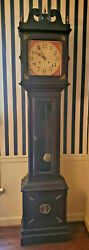 Vintage Tall Clock Spring Lever Movement