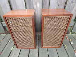 Vintage Xp65k The Fisher Speakers Working For Restore Local Pick Up Only