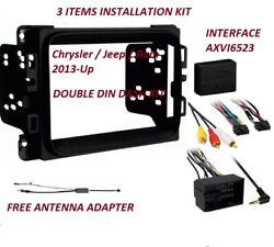 2013 And Up Dodge Ram Truck Car Stereo Installation Dash Kit +harness +antenna