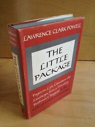 Lawrence Clark Powell / Little Package Pages On Literature And Landscape 1st Ed