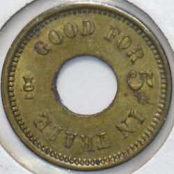 1970 Good For In Trade Token 5 Cents 293148 Combine Shipping