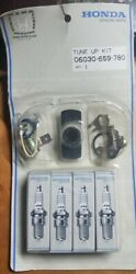 Genuine Honda Tune Up Kit. Ngk Spark Plugs Ignition Condenser / Contact Point