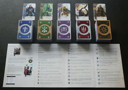 Gwent/gwint Cards 5 Decks 612 Cards Witcher 3 Full Set Eng Edition