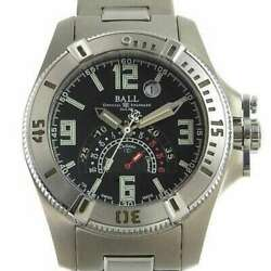 Free Shipping Pre-owned Ball Watch Engineer Hydrocarbon Dt1016a Limited Model