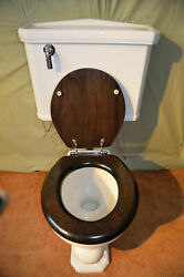 Vintage Toilet Restored Wall Mounted