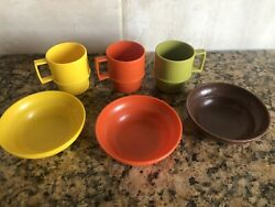 Vintage Toy Tupperware Play Dishes