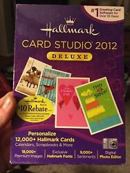 Hallmark Card Studio 2012 Deluxe Greeting Card Software Personalize Cards New
