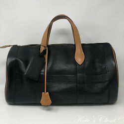 HERMES Boston Vintage 1981 Weekend Travel Bag