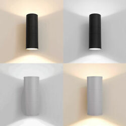 Modern Led Wall Light Sconce Up Down Porch Fixture Waterproof Lamp Outdoor Yard