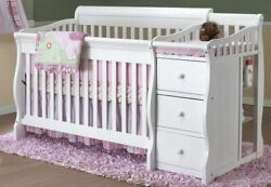 Princeton Elite 4-in-1 Convertible Crib And Changer Combo By Sorelle