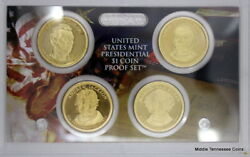 2008-s Presidential Dollar Proof Set In Original Government Packaging With Coa