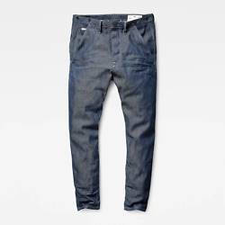 G-star Jeans And039re Us Lumber Chino Classc Taperedand039 Selvedge 3d Dark Aged W36 L32