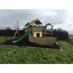 Wicklow Mountains - Jungle Gym Pirate Ship Swings Slide Triple Tower Steps