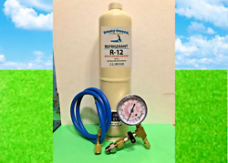 R12, Refrigerant 12 Dye And Stop Leak Pro Sealxl4, 28 Oz. Check And Charge-it Kit