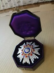 Ww2 Japanese Army 2th Orders Of The Sacred Treasure Medal Badge Army Navy Rare 1