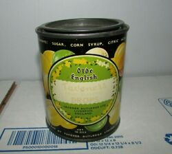 Vintage Olde English Taveners Fruit Drops Candy 10 Ounce Can Liverpool England