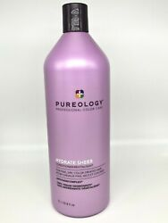 Same Day Ship Pureology- Hydrate Sheer Conditioner 33.8 Oz