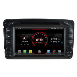 Android 10 Car Dvd Gps Stereo Nav For Mercedes Benz C-w203 W209 W639 W463 Radio
