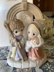 Precious Moments Christmas Unto Us A Child Is Born Reduced Price