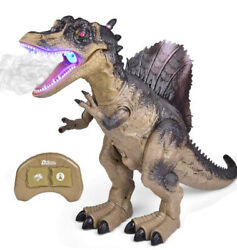 FUN LITTLE TOYS Remote Control Dinosaur for Kids Electronic Walking amp; Spray Toy $24.99