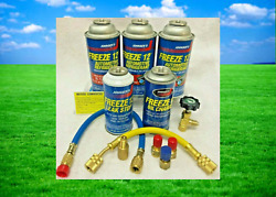 Freeze 12, Replaces R-12 In A/c Systems, Non-flammable, No Cfc's, Recharge Kit