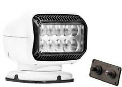 Golight Golightandreg Gt Series Led Permanent Mount Searchlight With Hardwired Dash M