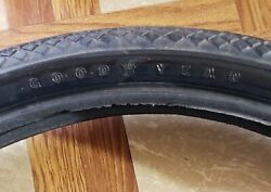 """One Pair New Vintage Goodyear 24"""" X 1.75"""" Wingfoot 175 Tires Nos"""