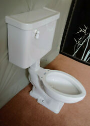 Vintage Wall Mounted Toilet Restored