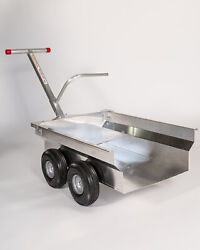 The Alumacart Too-all Purpose And Garden And Landscape Dump Bed Cart-aluminum-usa