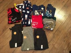 Nwtboys Size 4 / 4t Clothes Lot Of 10 Pcs.fall / Winterjumping Beans,carter's