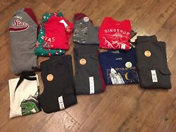 Boys Size 4 / 4t Clothes Lot Of 10 Pcs. Fall / Winter Carter's, Jumping Beans
