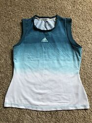Adidas For the Oceans Parley Tank Sleeveless Top Women#x27;s Size M Medium $18.99