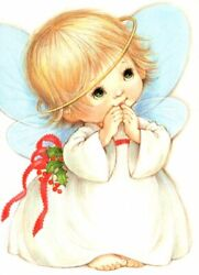 Sweet And Rare Angel Halo Holly Babe Babes Morehead Christmas Cards - Set Of 17